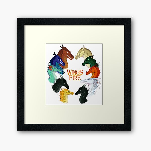 Wings of Fire - All Together Framed Art Print