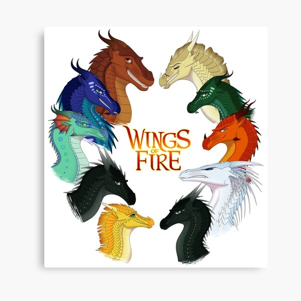 Wings of Fire - All Together Canvas Print