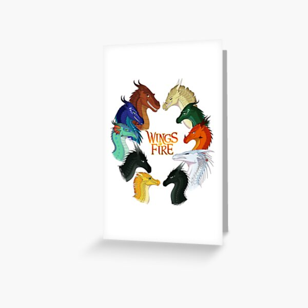 Wings of Fire - All Together Greeting Card