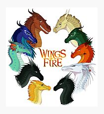 Wings of Fire - All Together Photographic Print