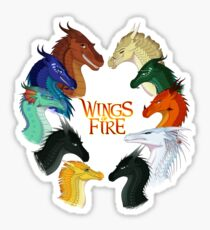 Wings of Fire - All Together Sticker