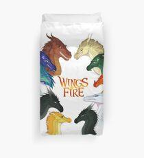 Flügel des Feuers - Alle zusammen Bettbezug