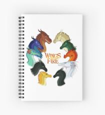 Wings of Fire - All Together Spiral Notebook