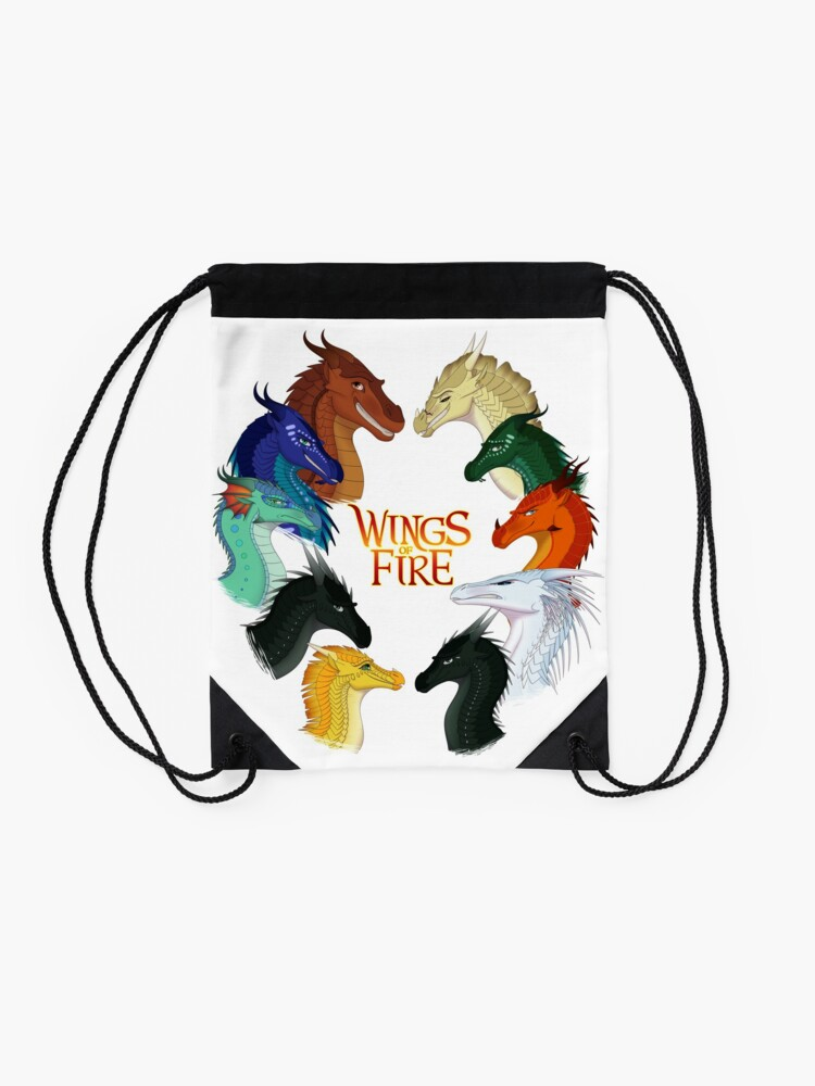 Alternate view of Wings of Fire - All Together Drawstring Bag