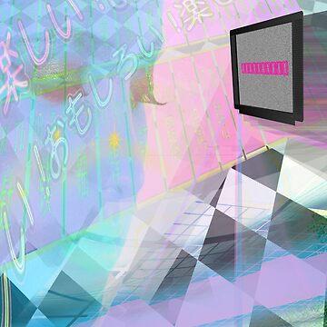 vaporwave aesthetic  by frauenbrauen