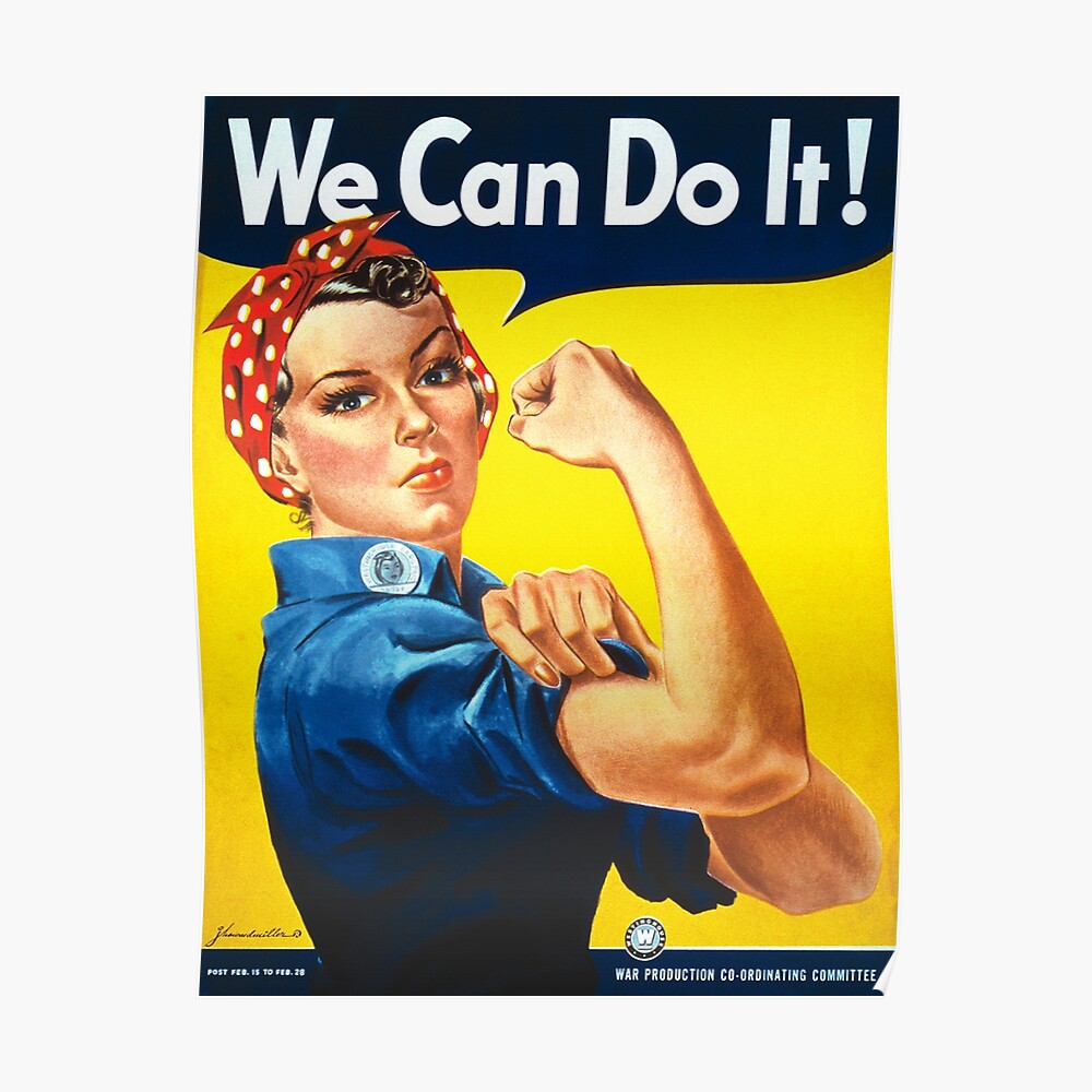 Podemos hacerlo - Rosie the Riveter Póster