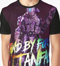 Stand By Holo Pilot 4K Graphic T-Shirt