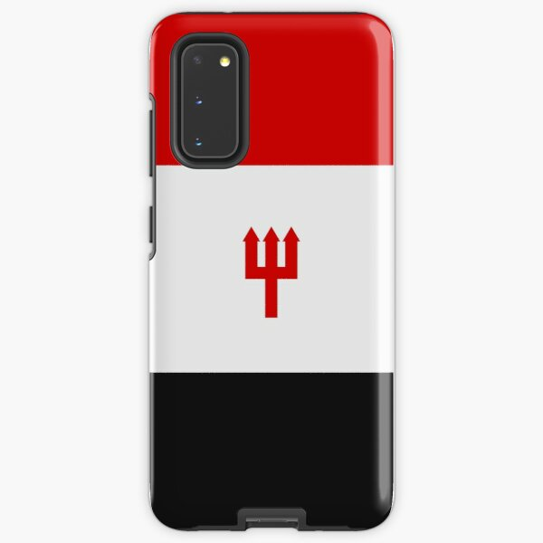 United Trident - Red, White and Black Samsung Galaxy Tough Case