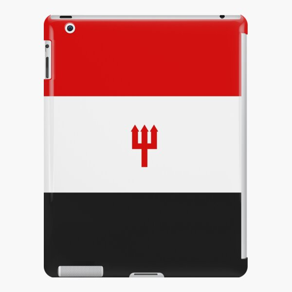United Trident - Red, White and Black iPad Snap Case