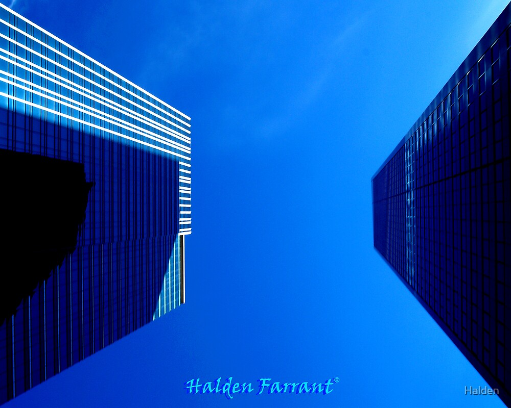 Towering Above Us by Halden