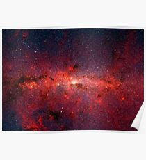 The Milky Way in Infrared Poster