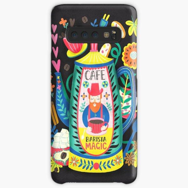 Coffee Lovers-Barista Magic Samsung Galaxy Snap Case
