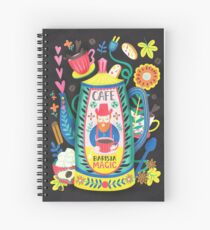Coffee Lovers-Barista Magic Spiral Notebook