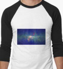 Peony Nebula Men's Baseball ¾ T-Shirt