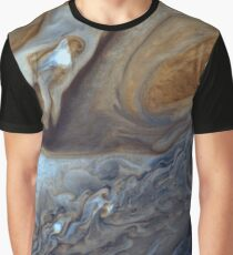 Storms on Jupiter Graphic T-Shirt