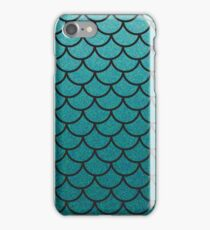Aqua Mermaid Scales iPhone Case/Skin