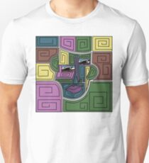 Geometric Portrait T-Shirt