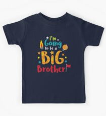 Big Brother Baby Announcement Shirt Kids Tee