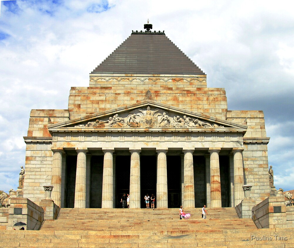 The Shrine Melbourne by Pauline Tims