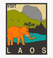 Laos Photographic Print