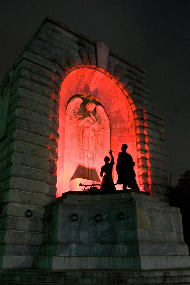 Adelaide War Memorial by Peter Ede