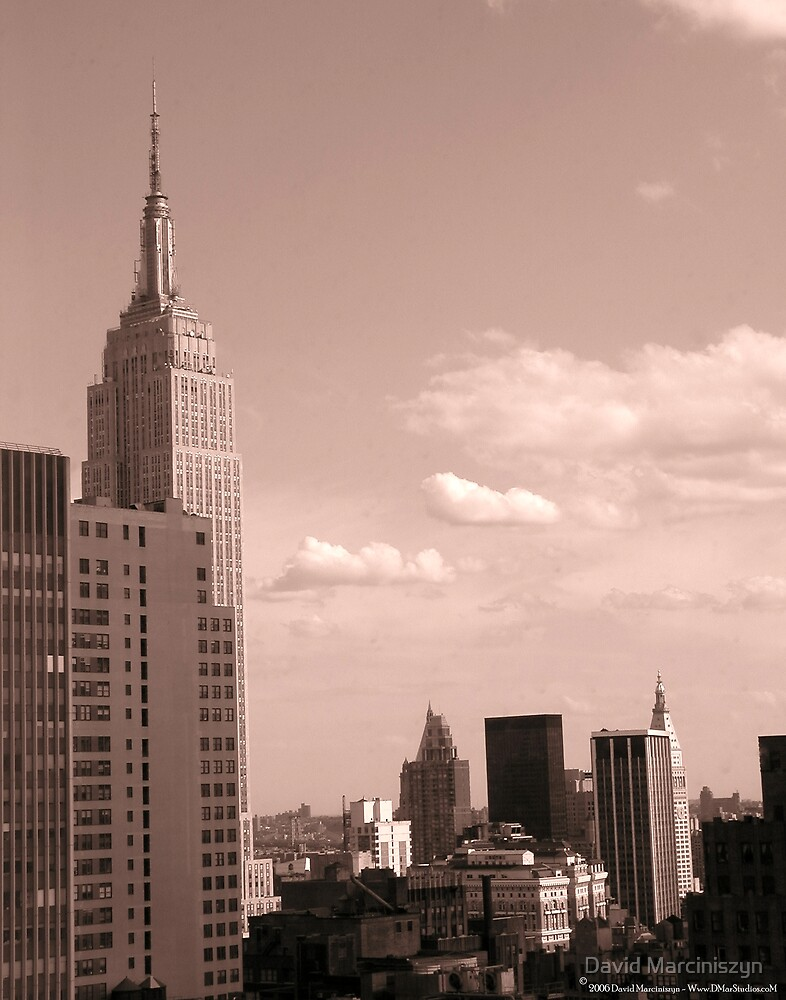 Empire State Building by David Marciniszyn