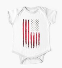 American Stars and Stripes flag Grunge Kids Clothes