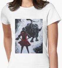 Fearless Girl Womens Fitted T-Shirt