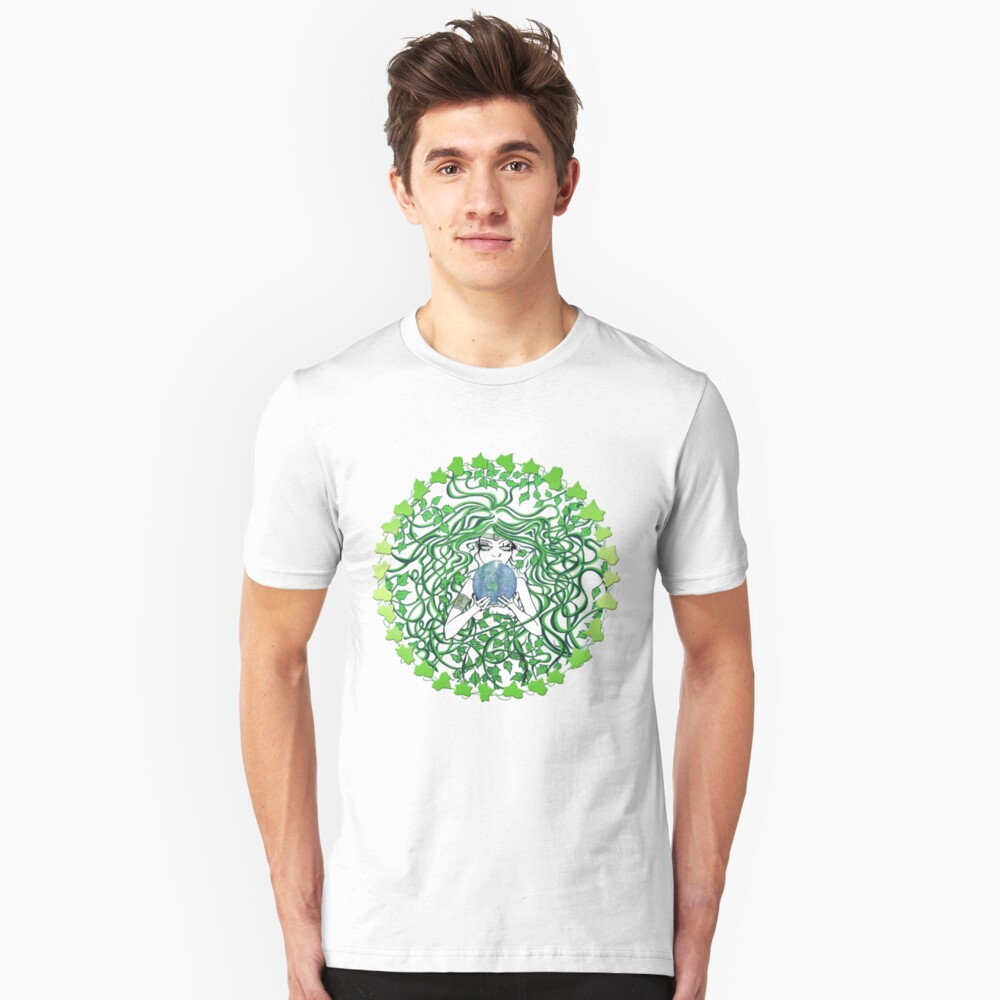 be green Unisex T-Shirt Front