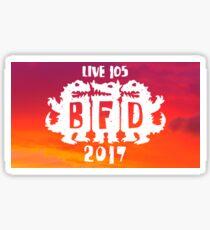 BFD 2017 XS Sticker