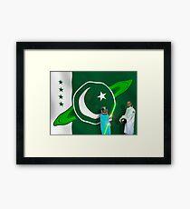 The Brave Men & Women Heroes of the Pakistani Starfleet Framed Print