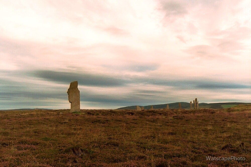 The Ring of Brodgar 2 by WatscapePhoto
