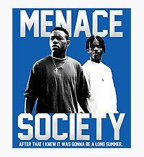 menace society Photographic Print