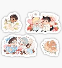 YOI White Day Zine Stickers Sticker