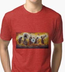 They All Go Marching In Tri-blend T-Shirt