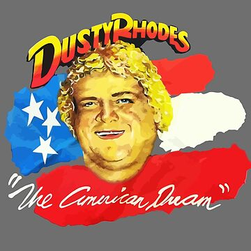Dusty Rhodes by kayfabemerch