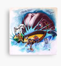 Save The Whale Canvas Print