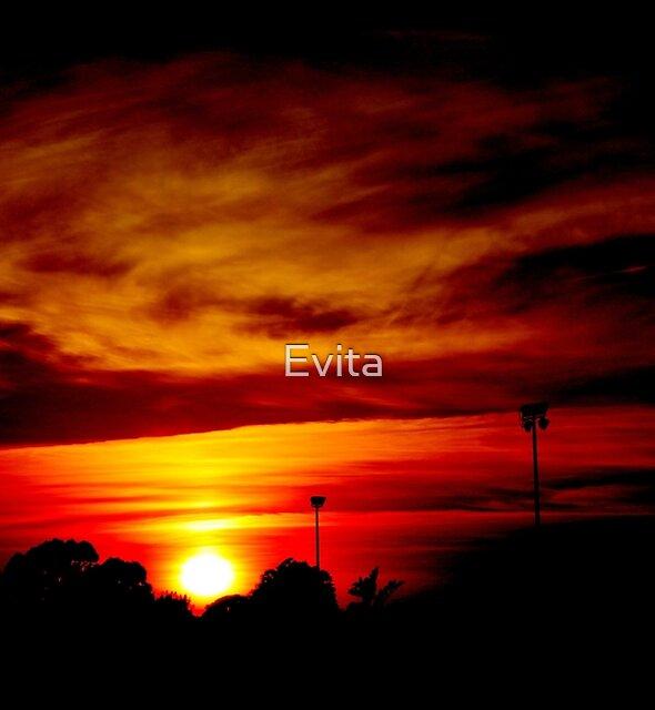 Fiery Sunrise by Evita