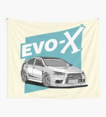 Evo-X Wall Tapestry