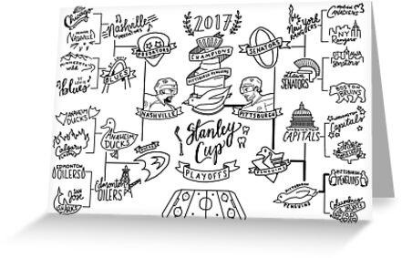 2017 Stanley Cup Bracket by grainnedowney
