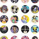 Talentlesshuman Stickers by talentlesshuman
