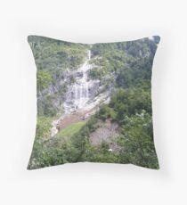 Wasserfall  Throw Pillow