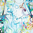 Fibroblasts  - Watercolor Painting by jeffjag