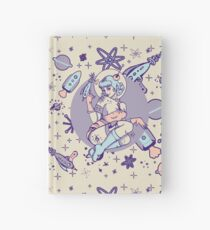 Space Babe Hardcover Journal