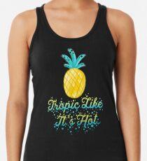 Camiseta con espalda nadadora Tropic Like It Hot