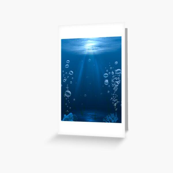 Submerged Greeting Card