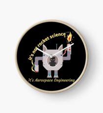 It's Not Rocket Science Is Aerospace Funny Engineering Clock