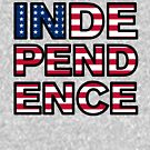 Independence by HandDrawnTees
