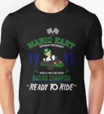 Racing Champion Luigi T-Shirt