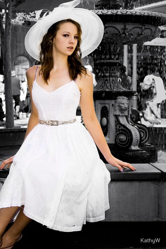"""""""White Dress"""" by KathyW"""